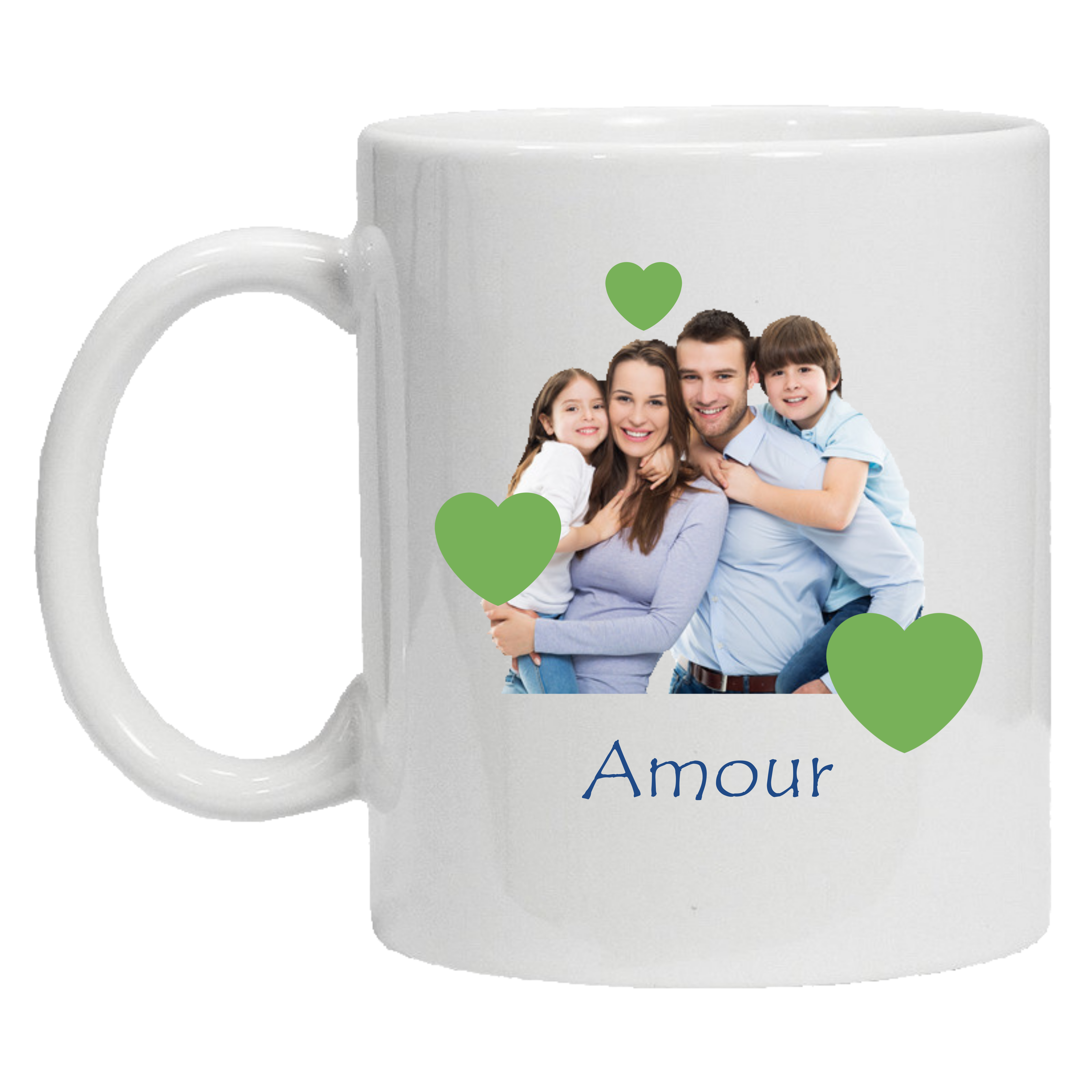 Mug 1 face Amour