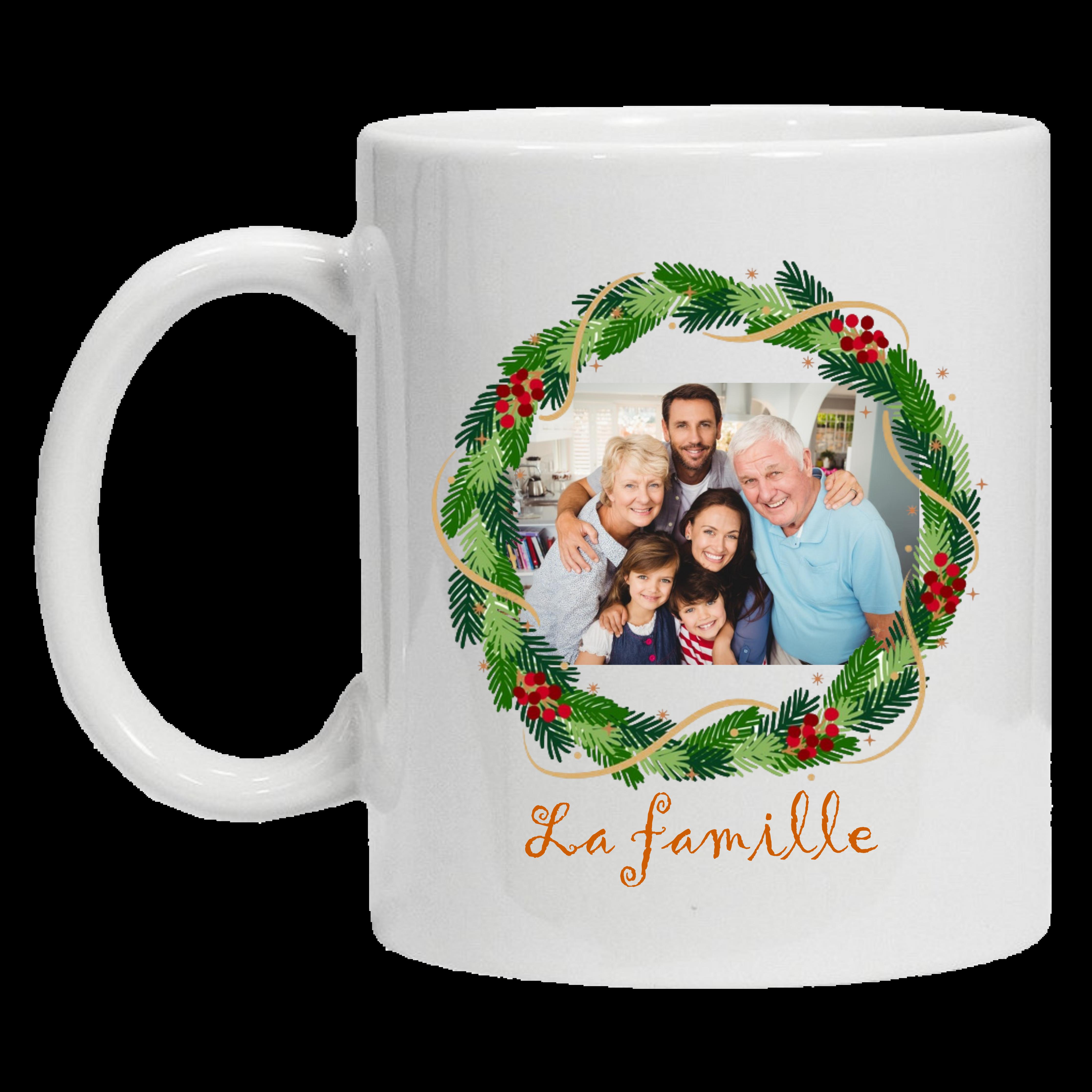 Mug 1 face La famille